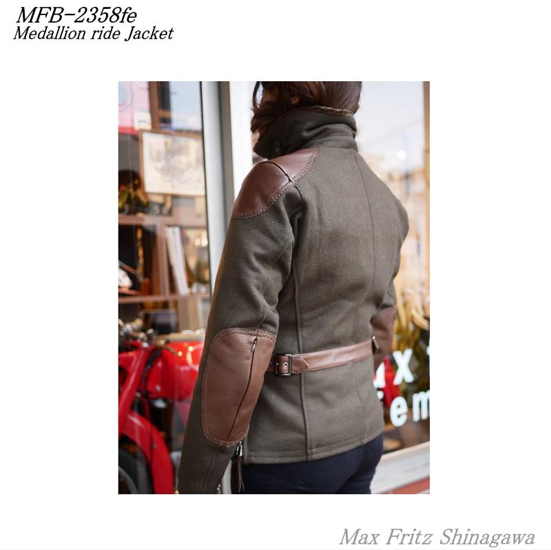 MFB-2358feメダリオンライドジャケット